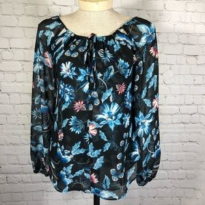 White House Black Market Blouse 0